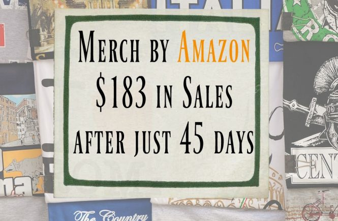 how i started selling on merch by amazon with no experience